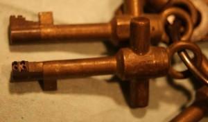 Wachtloper Bürk sleutels